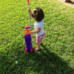 Golfing In The Yard