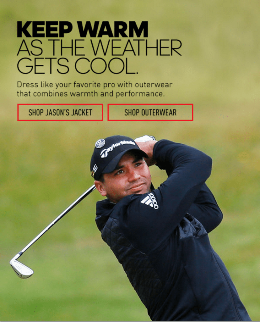 Adidas Coupon Code- Jason Day Cover Photo