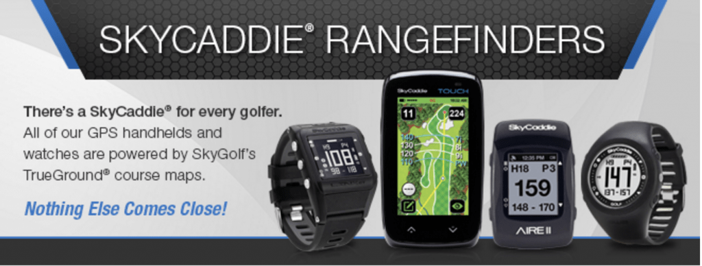 SkyCaddie Golf GPS Rangefinders
