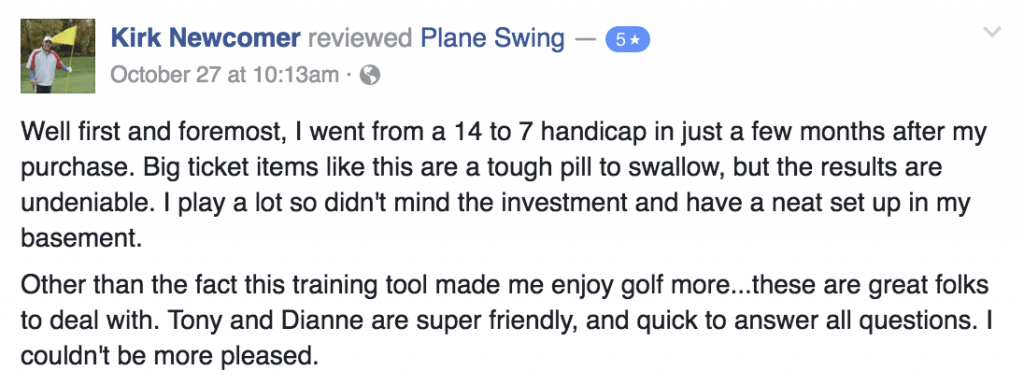 5 Star PlaneSwing Review