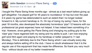 5-Star Plane Swing Review