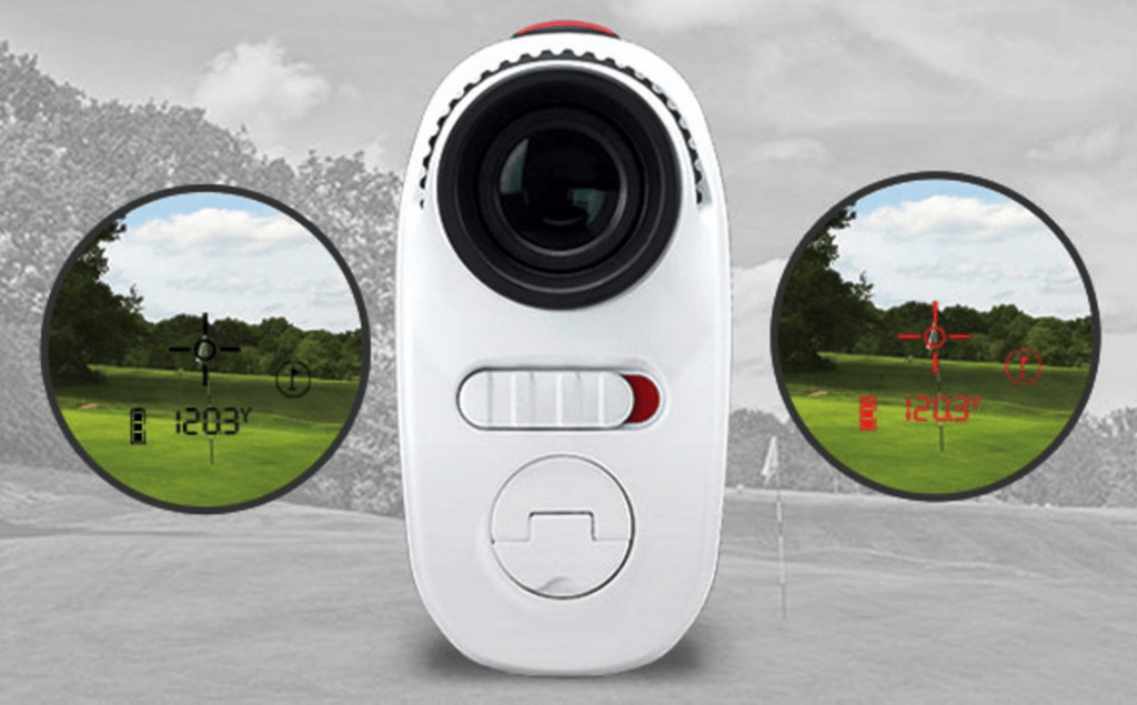 Bushnell Jolt Red and Black View Options