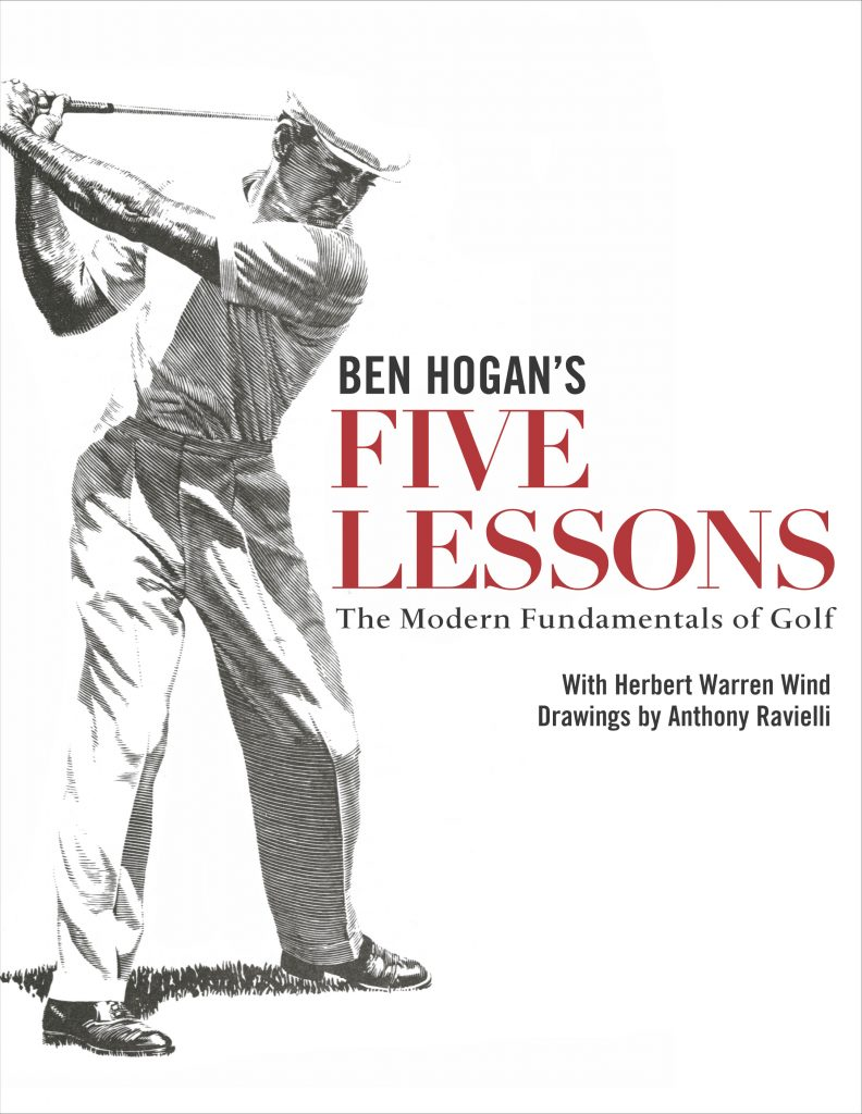 Ben Hogan Five Lessons The Modern Fundamentals Of Golf Book