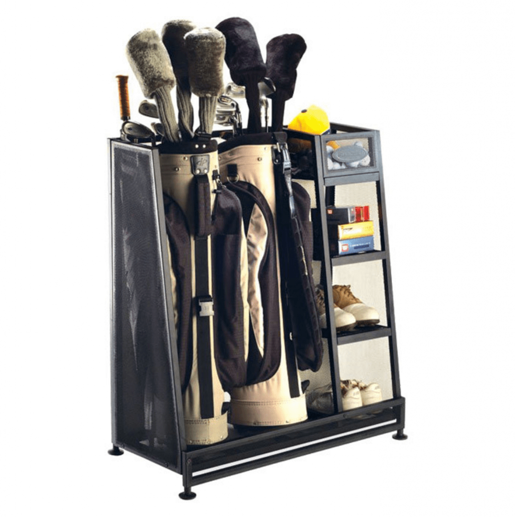 Suncast Golf Club Storage Rack