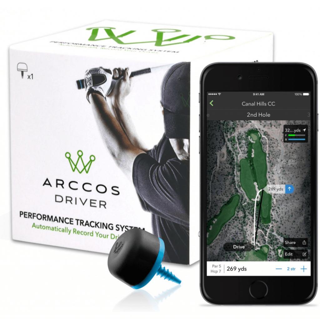 Arccos Golf Driver Tracking Box- Golfer Geeks