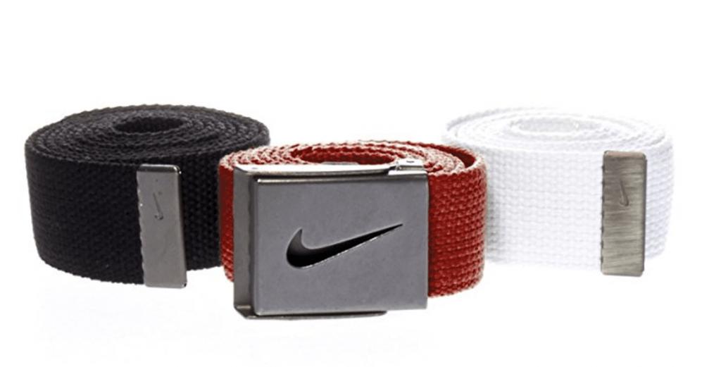 Nike Web Belt 3 Pack- Golfer Geeks