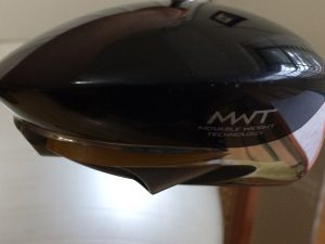 taylormade r7 460 front view