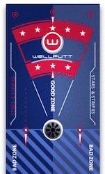 Stars & Stripes Wellputt mat